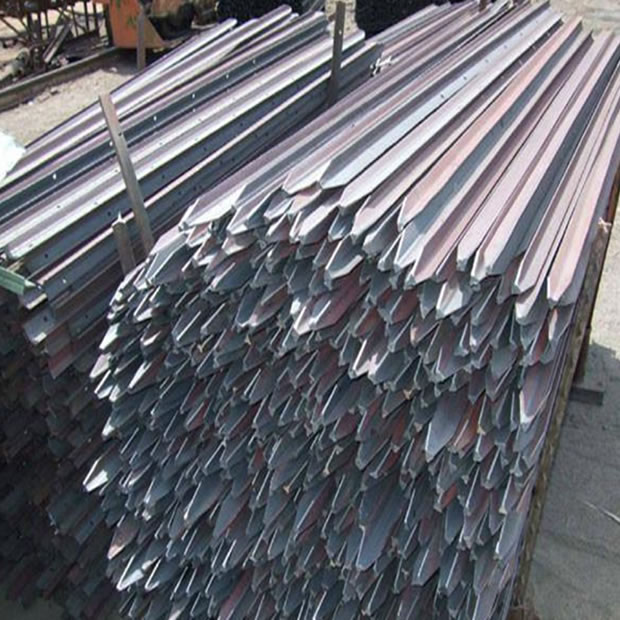 Y Type Fence Post Hot Dipped Galvanized Amp Pvc Coated Steel